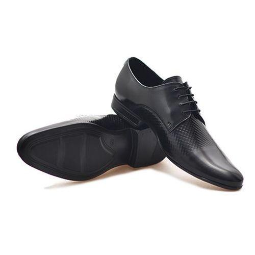 Conhpol Pantofle c00c-5493-0017 czarne lico
