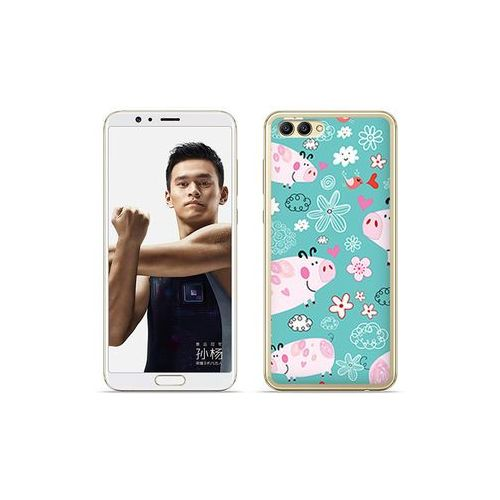 Etuo.pl Etuo fantastic case - huawei nova 2s - etui na telefon fantastic case - różowe świnki