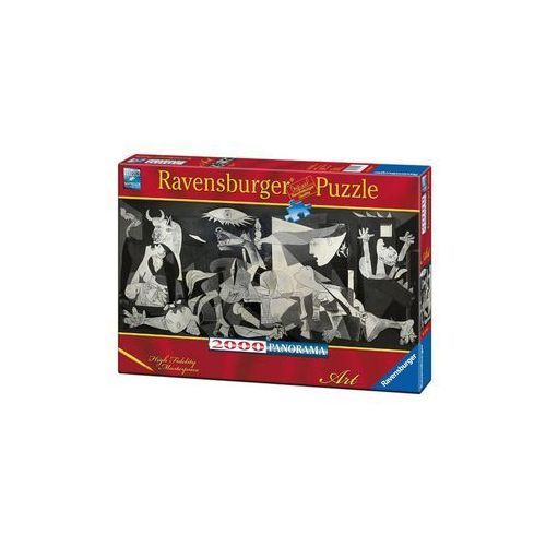 Puzzle panorama picasso guernica 2000 marki Ravensburger