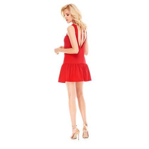 Sugarfree Sukienka galina w kolorze czerwonym