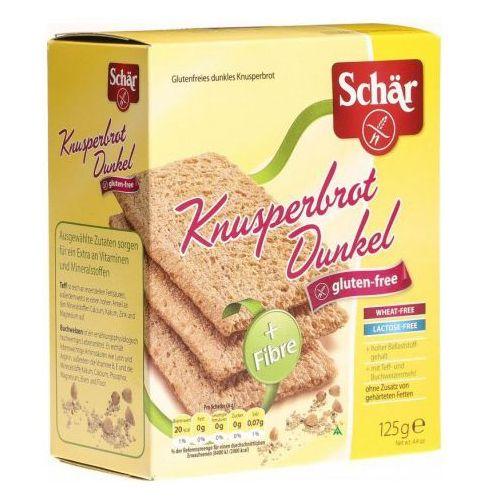 Ciemne pieczywo chrupkie knusperbrot dunkel 125g  wyprodukowany przez Schar
