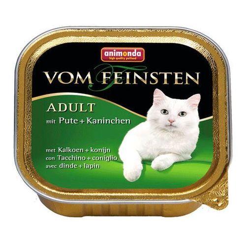 vom feinsten cat adult indyk z królikiem 100g marki Animonda
