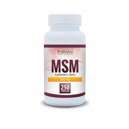 Proness myvita Msm organiczny związek siarki 500mg 250tab myvita