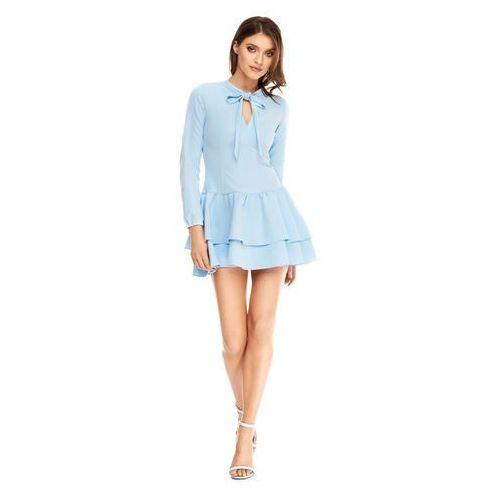 Sukienka betty w kolorze błękitnym marki Sugarfree