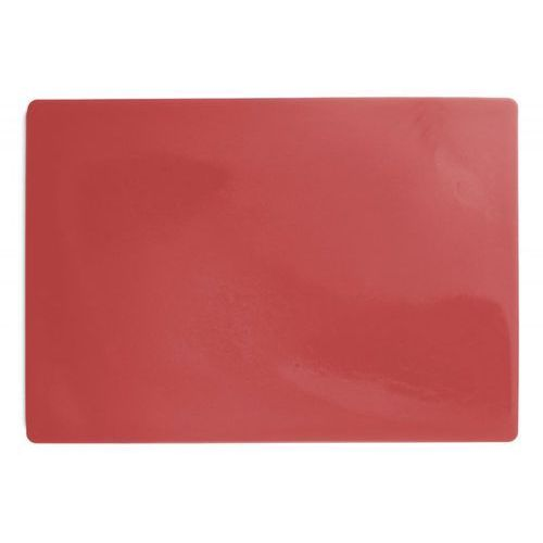 Merx team Deska polietylenowa hdpe do krojenia, haccp, czerwona, wymiary 49,5x35x2 cm, xantia 78559
