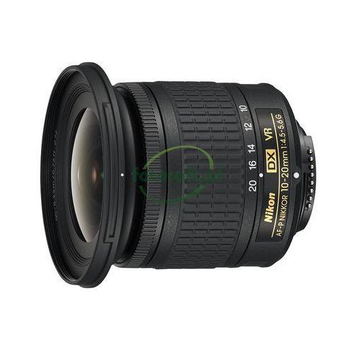 nikkor af-p dx 10-20mm f/4.5-5.6g vr cashback zwrot od nikon 215 zł marki Nikon