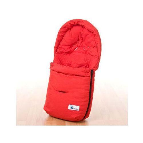 ALTABEBE Śpiworek letni do fotelika samochodowego kolor czerwony (4897015971793)