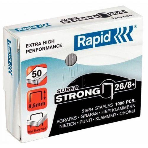 Rapid Zszywki super strong 26/8+ 1000 szt 24861600