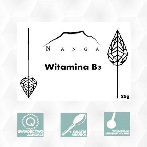 Witamina B3 NIACYNA 25g Nikotynamid Magiczne Ogrody (lek witaminy i minerały)