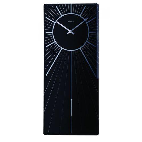 Zegar Ścienny 2972 Heavenly 70x30 cm Nextime, kolor czarny