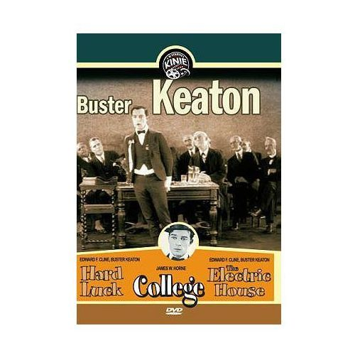 Buster Keaton część 1 (College, Hard Luck, The Electric House) (DVD) - Mayfly z kategorii Komedie