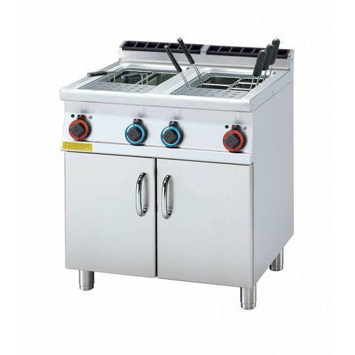 Rm gastro Urządzenie do gotowania makaronu elektryczne | 2x25l | 15600w | 800x700x(h)900mm