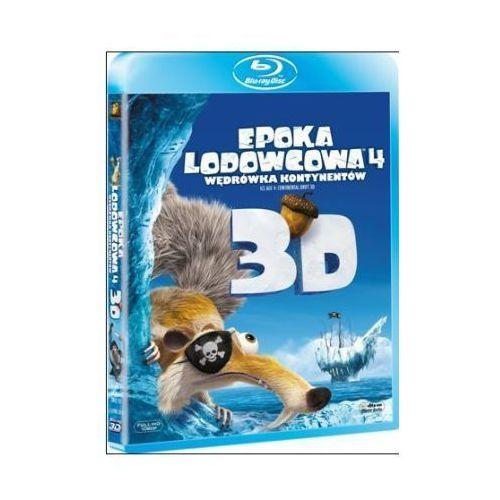 Epoka lodowcowa 4: Wędrówka kontynentów 3D (Blu-Ray) - Steve Martino, Mike Thurmeier (5903570068324)