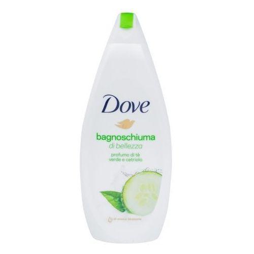 Dove Go Fresh Caring Bath Cucumber 700ml W Pianka do kąpieli