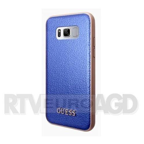 Guess GUHCS8LIGLBL Samsung Galaxy S8+ G955 (niebieski), GUE000331