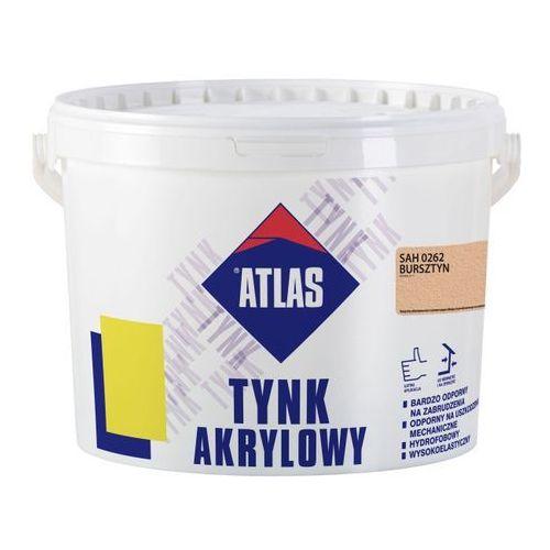Tynk akrylowy sah 0262 bursztyn 25 kg marki Atlas