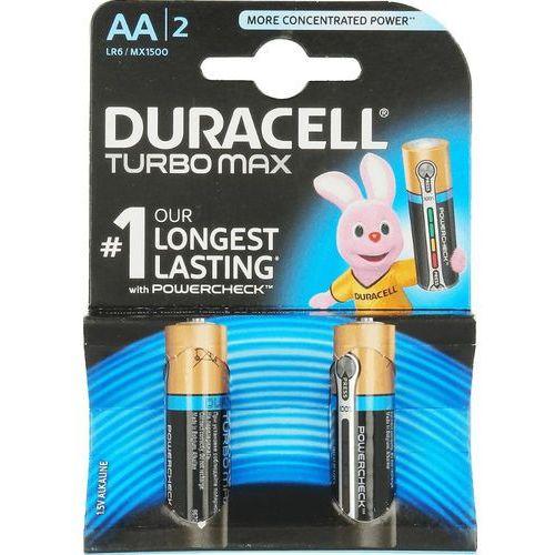 2 x bateria alkaliczna Duracell Duralock Turbo Max LR6/AA (blister), MN1500