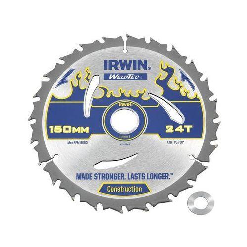 Tarcza do pilarki tarczowej 150 mm/24T/20(16) IRWIN WELDTEC (5706918973492)