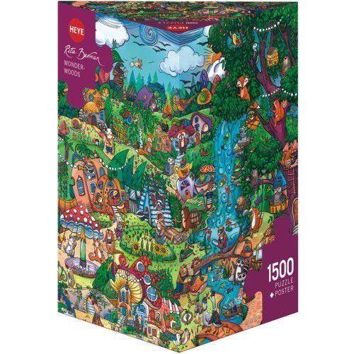 1500 ELEMENTÓW Wspaniały las (GXP-580788) (4001689297923)