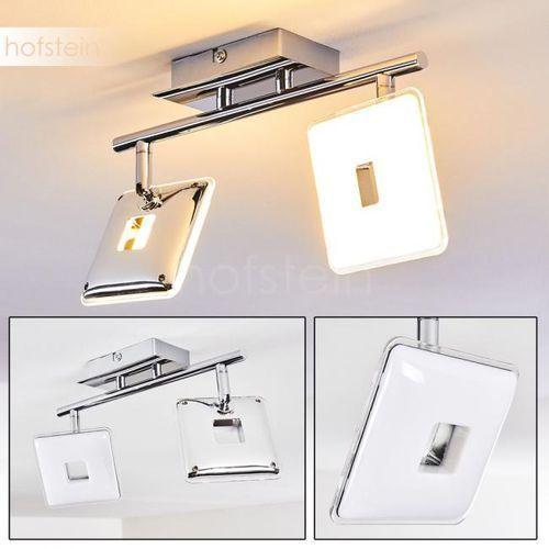 Vallorbe Lampa Sufitowa LED Chrom, 2-punktowe - Design - Obszar wewnętrzny - Vallorbe - Czas dostawy: od 3-6 dni roboczych