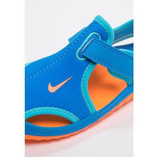 another chance 6dbe7 2f9e7 ... Nike Performance SUNRAY PROTECT Sandały kąpielowe photo bluetotal  orangegamma blue (0886549924645 ...