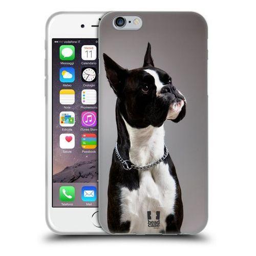 Etui silikonowe na telefon - Popular Dog Breeds BLACK AND WHITE DOG BOXER (Futerał telefoniczny)