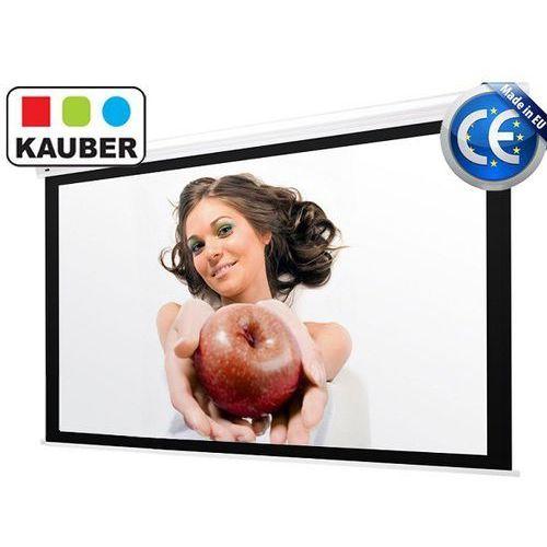 Ekran elektryczny blue label bi vision 220 x 220 cm 1:1 marki Kauber