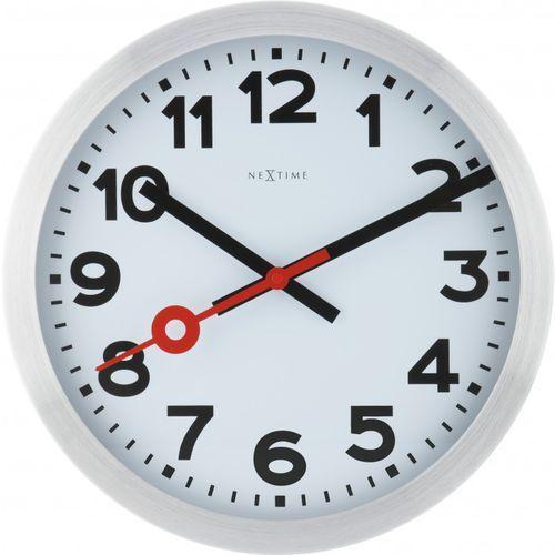 Zegar ścienny Station cyfry arabskie (8717713006596)