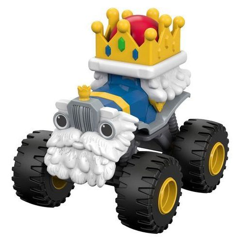 Fisher-price Fisher price blaze i megamaszyny auto king truck król dyn37
