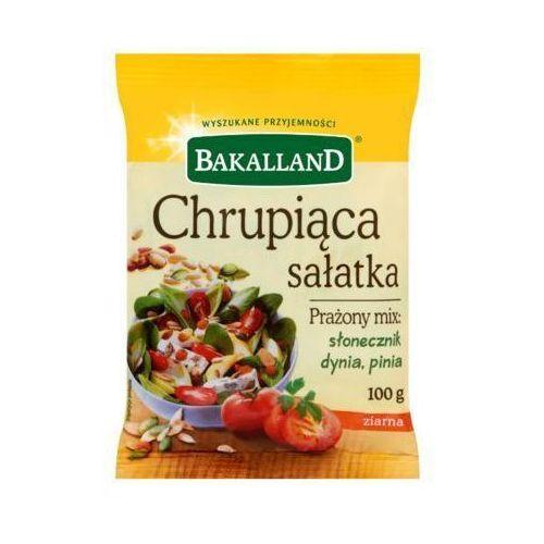 Bakalland 100g chrupiąca sałatka prażony mix słonecznik dynia pinia