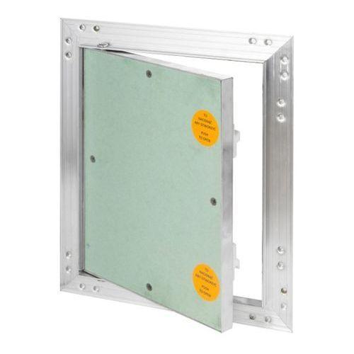 Klapa rewizyjna aluminiowa z płytą g-k 20 x 25 cm marki Diall