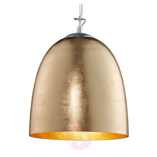 Ontario – lampa wisząca ze szkła, w kolorze złota