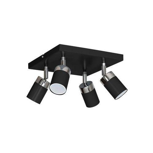 Decoland Oświetlenie punktowe joker 4xgu10/40w/230v czarny