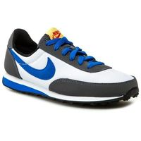 Buty NIKE - Elite 418720 102 White/ Hyper Cobalt/ Dark Grey/ True Yellow, kolor szary