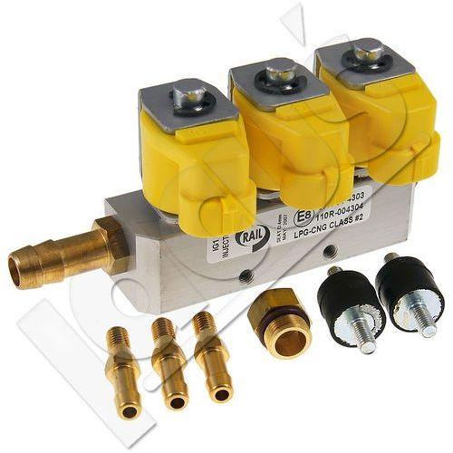 Listwa wtryskowa Rail IG1 1Ohm żółta 3 cyl. - produkt z kategorii- Wtryskiwacze paliwa