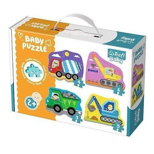 Puzzle Baby Classic - Pojazdy na budowie TREFL, 1_629701
