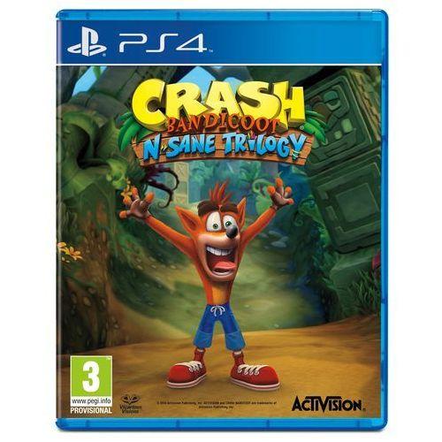 Crash Bandicoot N. Sane Trilogy (PS4). Najniższe ceny, najlepsze promocje w sklepach, opinie.