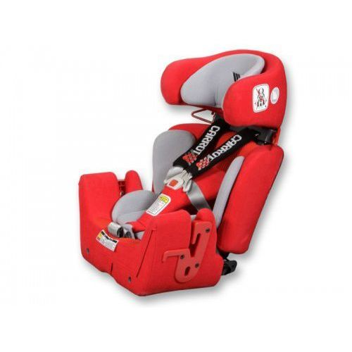 Rehabilitacyjny fotelik samochodowy dla niepełnosprawnych dzieci i młodzieży, modułowy carrot 3 z opcją obracania nawet do 75kg marki Japan