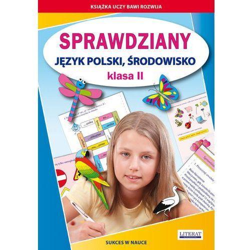 Sprawdziany Klasa 2 Język polski środowisko - Wysyłka od 3,99 - porównuj ceny z wysyłką (64 str.)