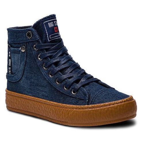 Sneakersy BIG STAR - BB274746 Navy, kolor niebieski