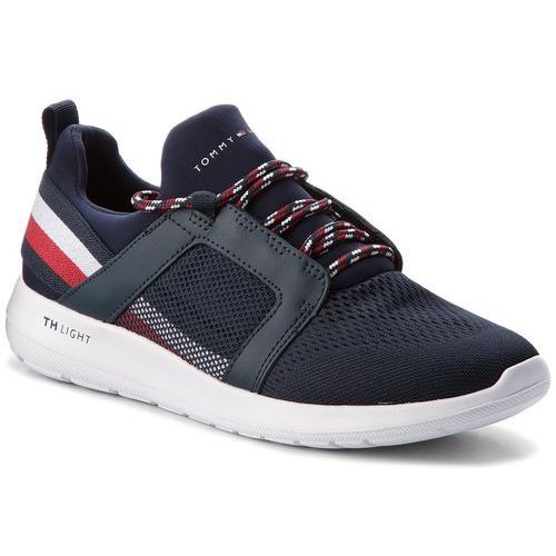 Sneakersy TOMMY HILFIGER - Technical Material Mix Sneaker FM0FM01345 Midnight 403