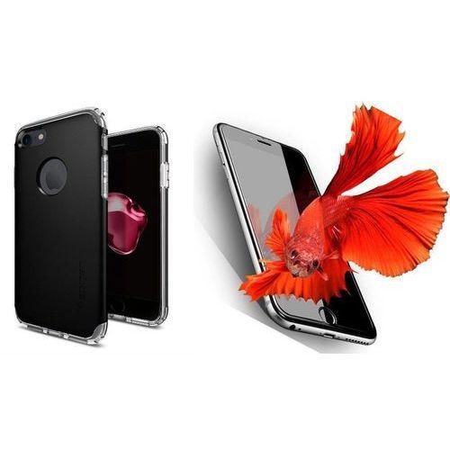 Zestaw | Spigen SGP Neo Hybrid Armor Black | Obudowa + Szkło ochronne Perfect Glass dla modelu Apple iPhone 7
