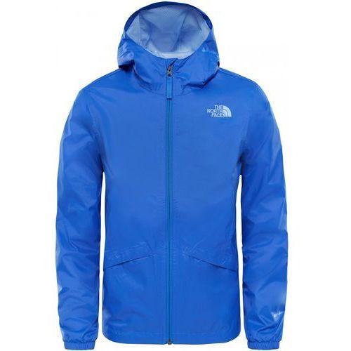 The North Face kurtka dziewczęca G Zipline Rain Jacket Dazzling Blue XS, kolor niebieski - OKAZJE