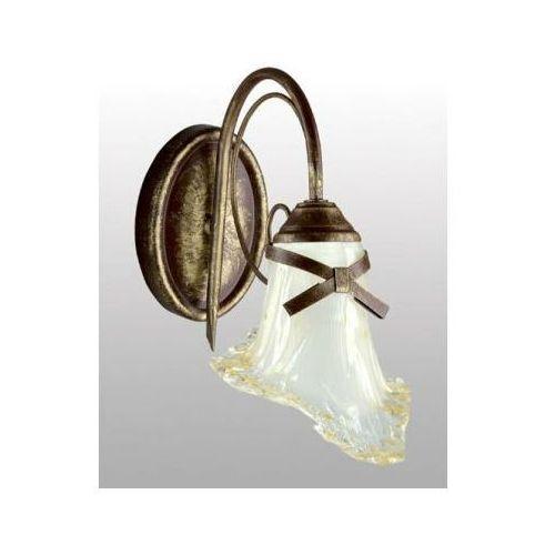 Kinkiet ścienny kokardka 40w szkło marki Lampex