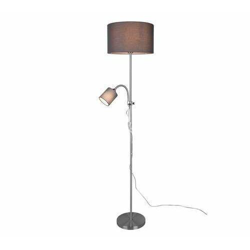 Trio rl owen r40192007 lampa stojąca podłogowa 1x40w e27 niklowa/szara