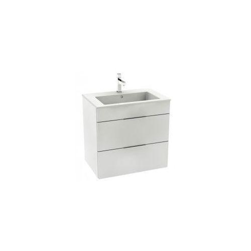 ROCA UNIK SUIT Zestaw umywalka 65 + biała szafka z szufladami A851180806