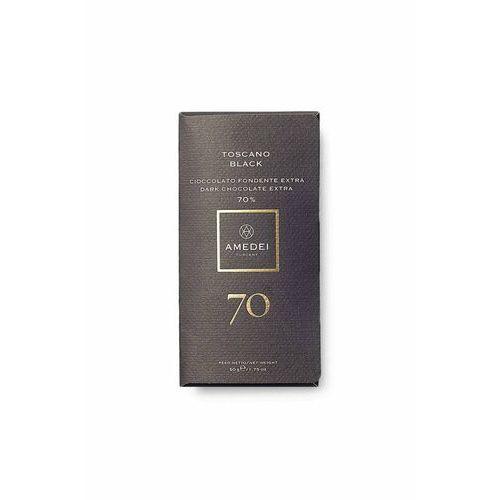 czekolada ciemna toscano black 70% 50g marki Amedei