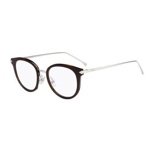 Okulary korekcyjne  ff 0166 funky angle v52 marki Fendi