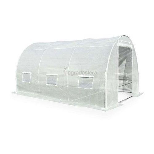 Tunel foliowy do uprawy roślin 2x3,5m biały - Transport GRATIS!