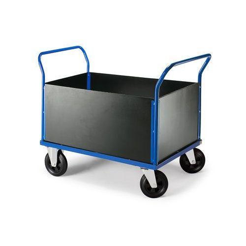 Wózek transportowy o platformie 700x1000mmBez hamulca, 208991